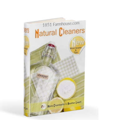 Now I Want to Spring Clean! { Free Natural Cleaner Ebook }