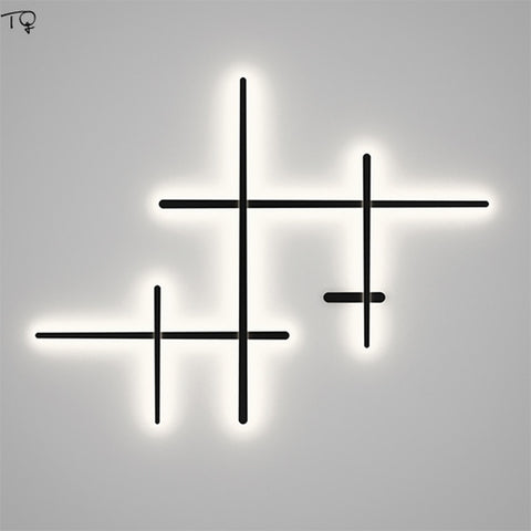 Minimalist Art Line Led Long Wall Lamp