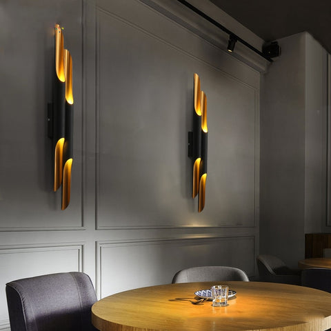 Modern Double Head Wall Lamp
