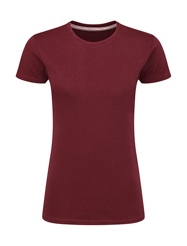 T-Shirt Bordeau  Personnalisable Femme