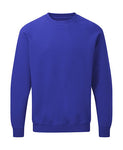 Sweat classique Bleu Royal Personnalisable Femme - Customized