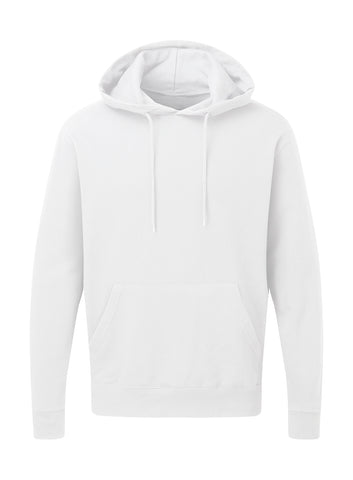 Sweat à capuche Blanc Personnalisable