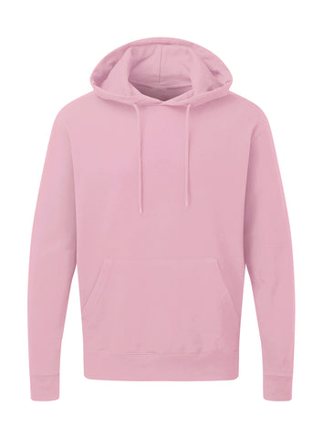 Sweat à capuche Rose Personnalisable