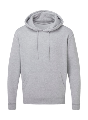 Sweat Gris à capuche Personnalisable