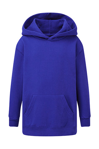 Sweat à capuche Bleu royal personnalisable Enfant