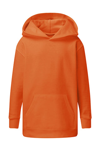 Sweat à capuche Orange personnalisable Enfant