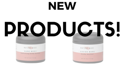 New Products! Cocoa Bare & Bare Body!