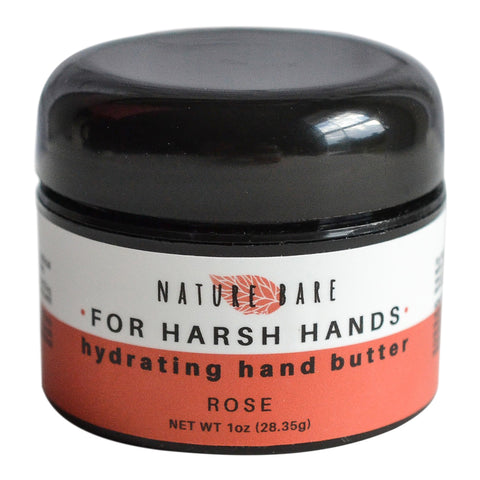 For Harsh Hands | Hand Cream for Extremely Dry Hands | Unscented, Lavender and Rose | 1-4 oz