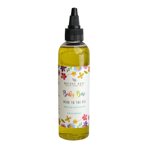 Baby Bare - Rose & Lavender | Head to Toe Baby Oil | 2 & 4oz