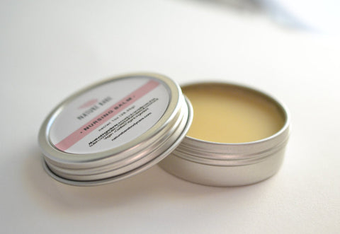 Nursing Balm | Cream for Sore and Cracked Nipples due to Breastfeeding | 1oz & 2oz