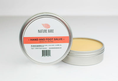 Hand and Foot Salve | Moisturizing Hand and Foot Balm | 1 & 2 oz