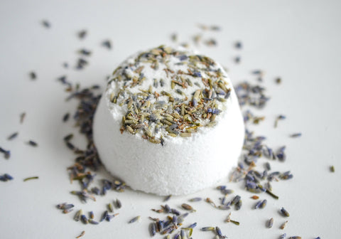 Lavender Flower Bath Bomb | Set Qty 1-3