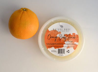 Orange Dead Sea Salt Body Scrub | 8oz
