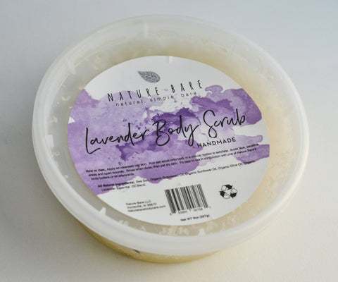 Lavender Dead Sea Salt Body Scrub | 8oz