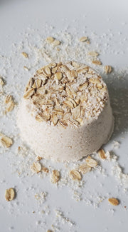 Oatmeal Bath Bomb | Set QTY 1-3