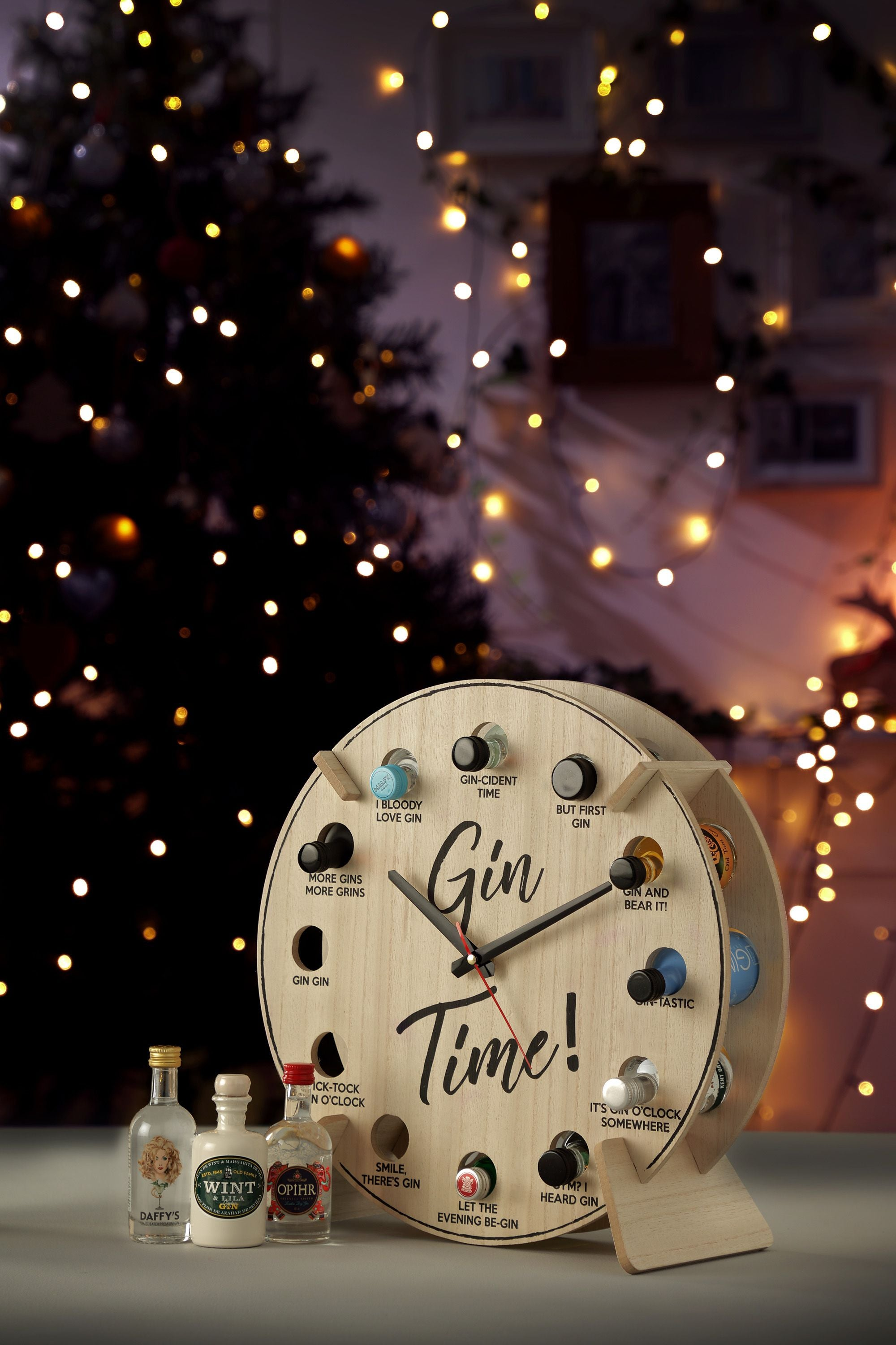 Gin Time Clock by GDS - The Pop Up Deli