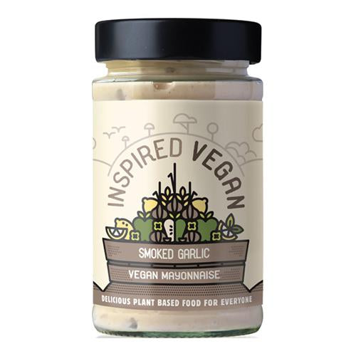 Inspired VEGAN Smoked Garlic Mayonnaise 205g [WHOLE CASE] by Inspired Dining - The Pop Up Deli