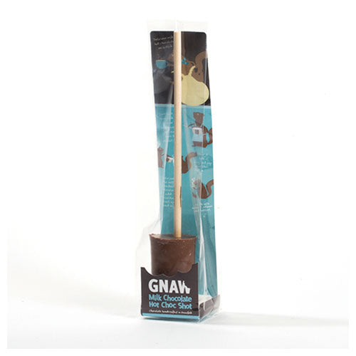 Gnaw Hot Choc Shots Milk [WHOLE CASE] by Gnaw Chocolate - The Pop Up Deli