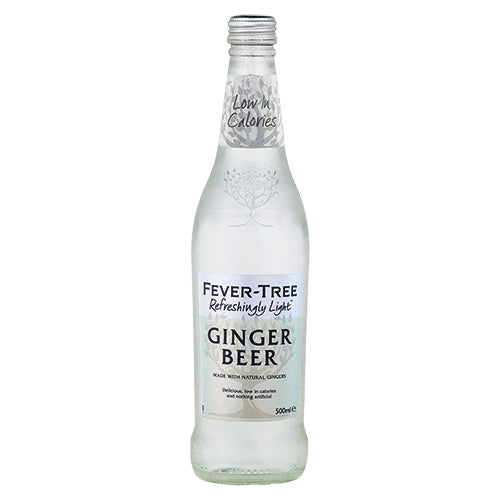 Fever-Tree Refreshingly Light Ginger Beer 500ml [WHOLE CASE] by Fever-Tree - The Pop Up Deli