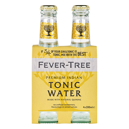 Fever-Tree Tonic Water 4x200ml [WHOLE CASE] by Fever-Tree - The Pop Up Deli