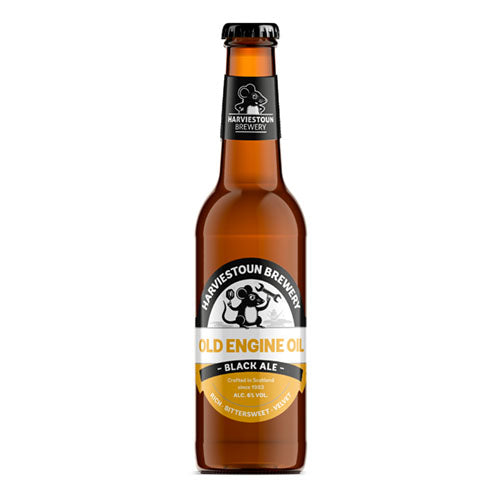 Harviestoun Brewery Old Engine Oil Craft Stout 6.0% 33cl Bottle [WHOLE CASE] by Harviestoun Brewery - The Pop Up Deli