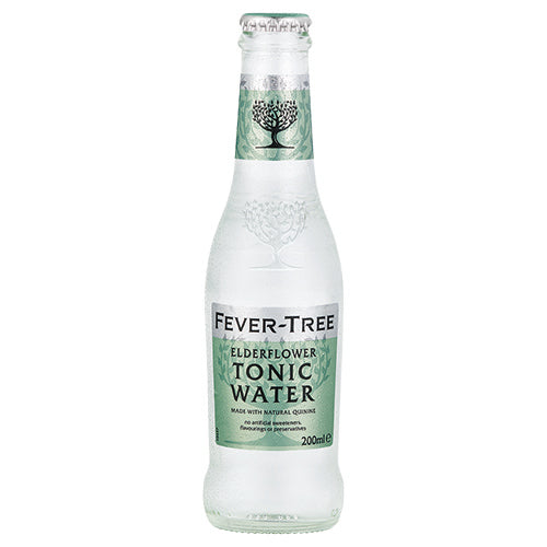 Fever-Tree Elderflower Tonic 200ml Case x24 [WHOLE CASE] by Fever-Tree - The Pop Up Deli