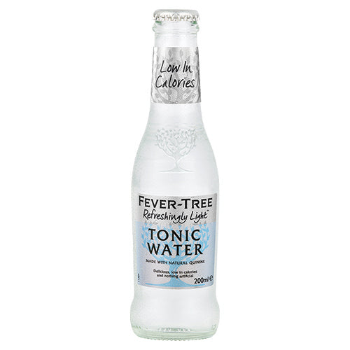Fever-Tree Refreshingly Light Premium Indian Tonic Water 200ml Case x24 [WHOLE CASE] by Fever-Tree - The Pop Up Deli