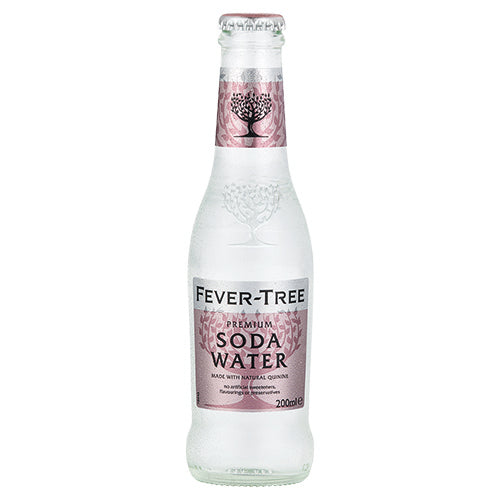 Fever-Tree Soda Water 200ml Case x24 [WHOLE CASE] by Fever-Tree - The Pop Up Deli