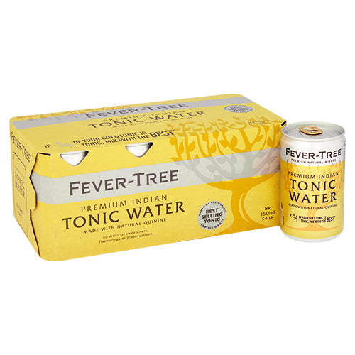 Fever-Tree Indian Tonic Water Cans 3x8 150ml [WHOLE CASE] by Fever-Tree - The Pop Up Deli