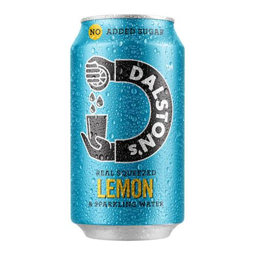 Dalston's Lemon Seltzer 330ml Can [WHOLE CASE] by Dalston's - The Pop Up Deli