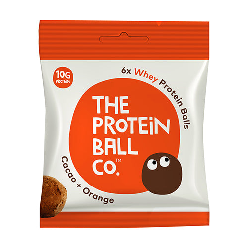 The Protein Ball Co - Cacao & Orange Protein Ball 45g Bag [WHOLE CASE] by The Protein Ball Co - The Pop Up Deli