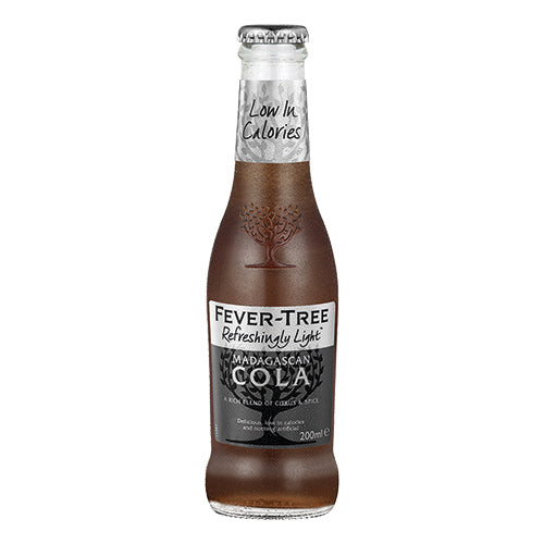 Fever-Tree Refreshingly Light Madagascan Cola 200ml Case x24 [WHOLE CASE] by Fever-Tree - The Pop Up Deli