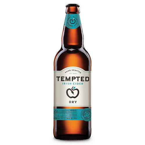 Tempted Dry Cider 500ml [WHOLE CASE] by Tempted Irish Cider - The Pop Up Deli