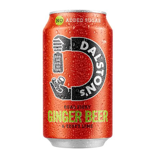 Dalston's Ginger Beer Seltzer 330ml Can [WHOLE CASE] by Dalston's - The Pop Up Deli
