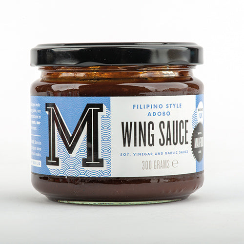 Manfood Adobo Wing Sauce [WHOLE CASE] by Manfood - The Pop Up Deli