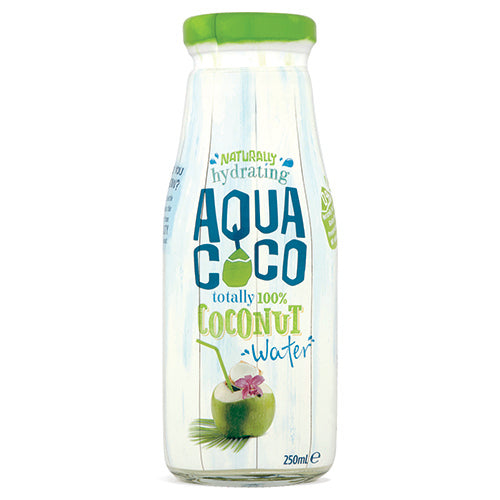 Aqua Coco Original 250ml Glass Bottle [WHOLE CASE] by Aqua Coco - The Pop Up Deli