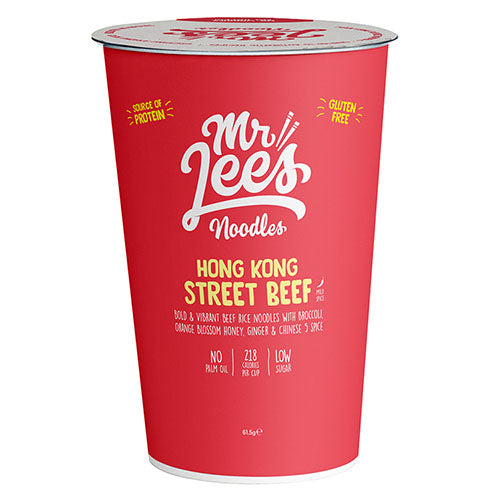 Mr Lee's Noodles Hong Kong Street Beef [WHOLE CASE] by Mr Lee's Noodles - The Pop Up Deli