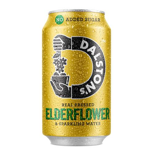 Dalston's Elderflower Seltzer 330ml Can [WHOLE CASE] by Dalston's - The Pop Up Deli