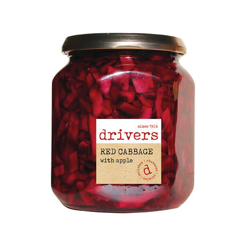 Drivers Red Cabbage With Apple [WHOLE CASE] by Drivers - The Pop Up Deli