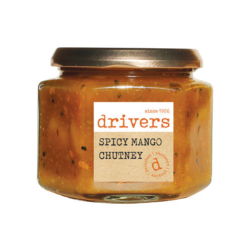 Drivers Spicy Mango Chutney [WHOLE CASE] by Drivers - The Pop Up Deli