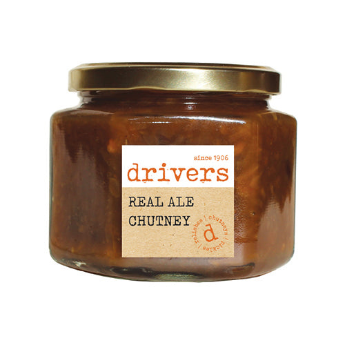 Drivers Real Ale Chutney [WHOLE CASE] by Drivers - The Pop Up Deli
