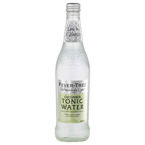 Fever-Tree Refreshingly Light Cucumber Tonic Water 500ml [WHOLE CASE] by Fever-Tree - The Pop Up Deli
