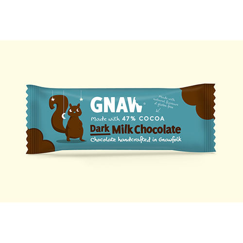 Gnaw 47% Milk Chocolate Impulse Bar [WHOLE CASE] by Gnaw Chocolate - The Pop Up Deli