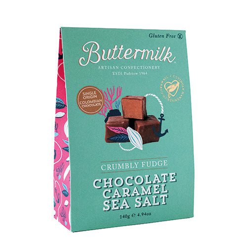 Buttermilk Sharing Box - Milk Chocolate Caramel Sea Salt [WHOLE CASE] by Buttermilk - The Pop Up Deli