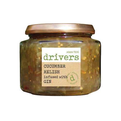 Drivers Cucumber Relish Infused With Gin [WHOLE CASE] by Drivers - The Pop Up Deli