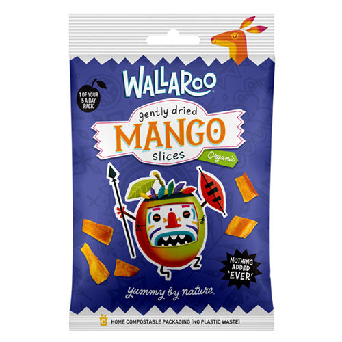 Wallaroo Organic Gently Dried Mango Slices 30g [WHOLE CASE] by WALLAROO - The Pop Up Deli