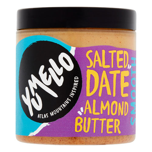 Yumello Salted Date Almond Butter 230g Jar [WHOLE CASE] by Yumello - The Pop Up Deli
