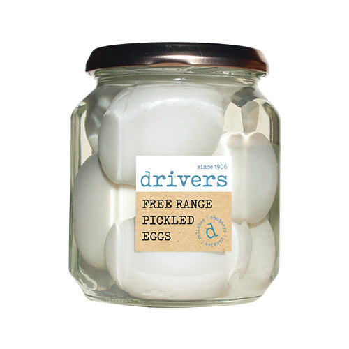 Drivers Free Range Pickled Eggs [WHOLE CASE] by Drivers - The Pop Up Deli