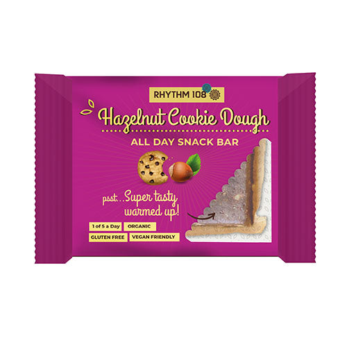 RHYTHM108 All-Day Snack Bar - Hazelnut Cookie Dough 40g [WHOLE CASE] by RHYTHM108 - The Pop Up Deli