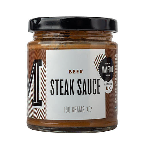 Manfood Beer Steak Sauce 190g [WHOLE CASE] by Manfood - The Pop Up Deli